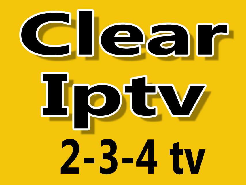 Clear iptv HD  2tv-3tv-4tv combo (Sous-titrage, closed caption) Windows pc, Apple, iptv box, Android.