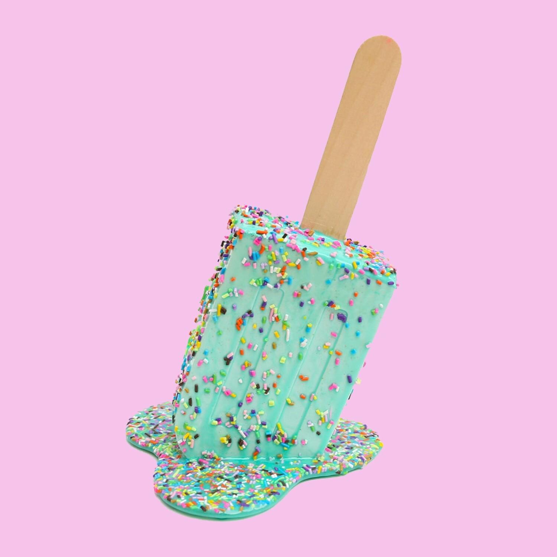 Super Size Mint Sprinkle Pop, 2020