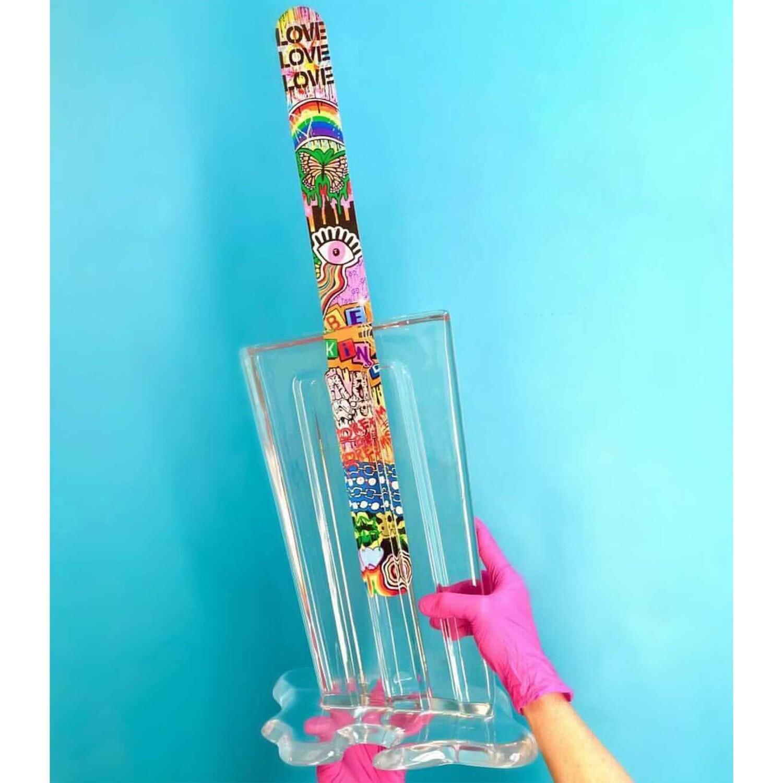 Melting Popsicle Art - Dream Big, Limited Edition 5/10 - Original Melting Pops™