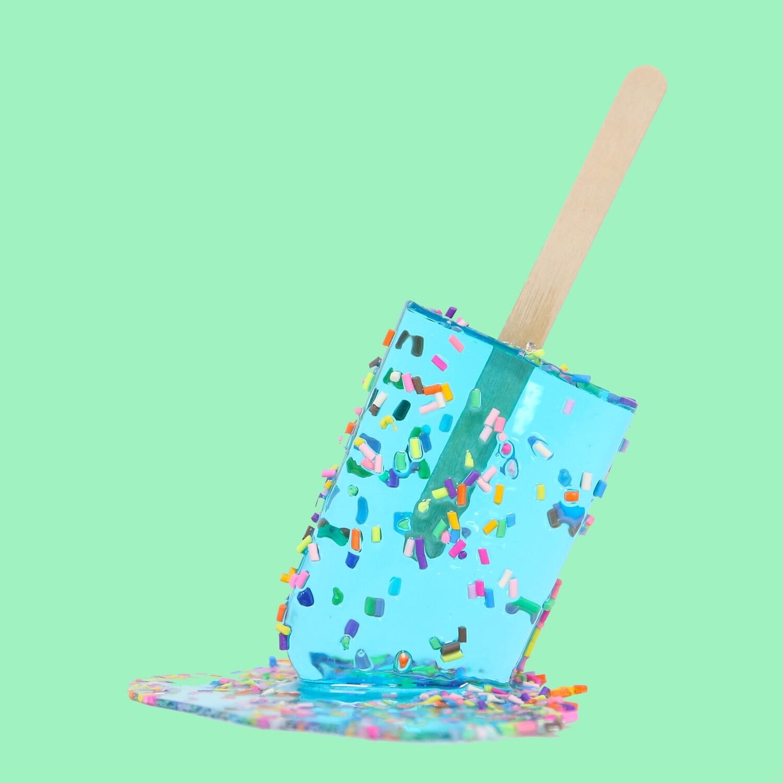 Aqua Sprinkle Pop, 2021
