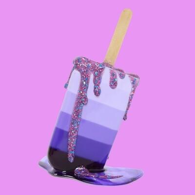 Purple Ombre Pop 2, 2021