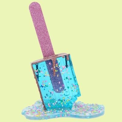 Bigger Aqua Sprinkle Pop, 2021