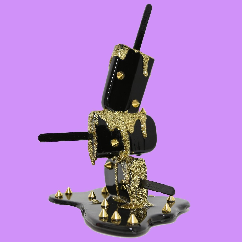 Black & Gold Spike Stack, 2021