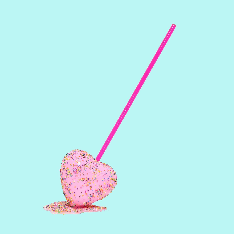 Melting Popsicle Art - So In Love Pop - Original Melting Pops™