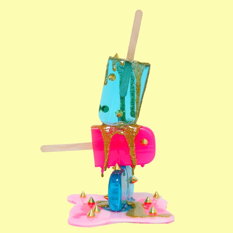 Melting Popsicle Art - TGIF - Original Melting Pops™