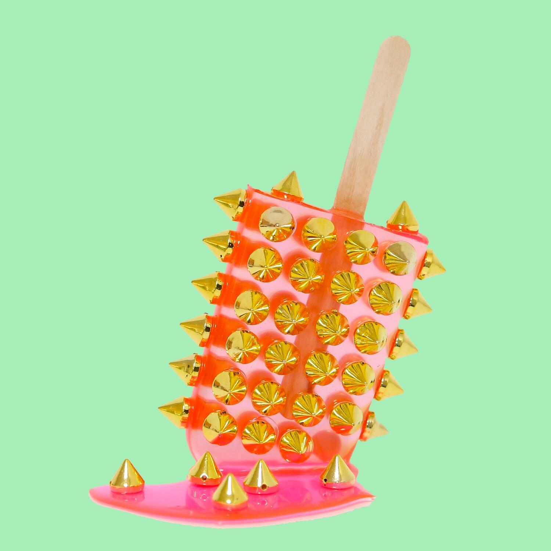 Melting Popsicle Art - Rose Spiketastic - Original Melting Pops™