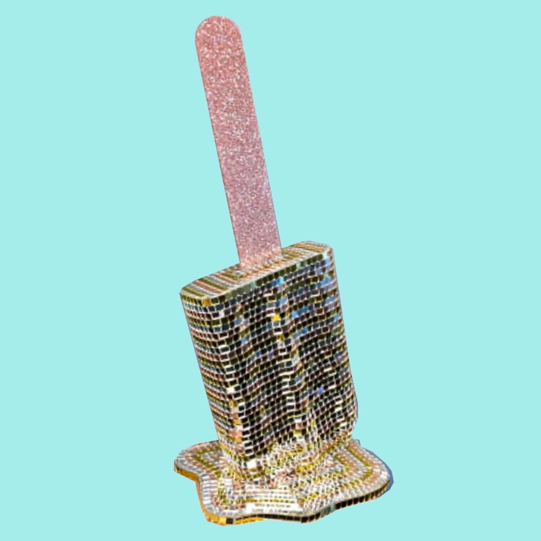 Melting Popsicle Art - Biggest Disco Pop - Original Melting Pops™