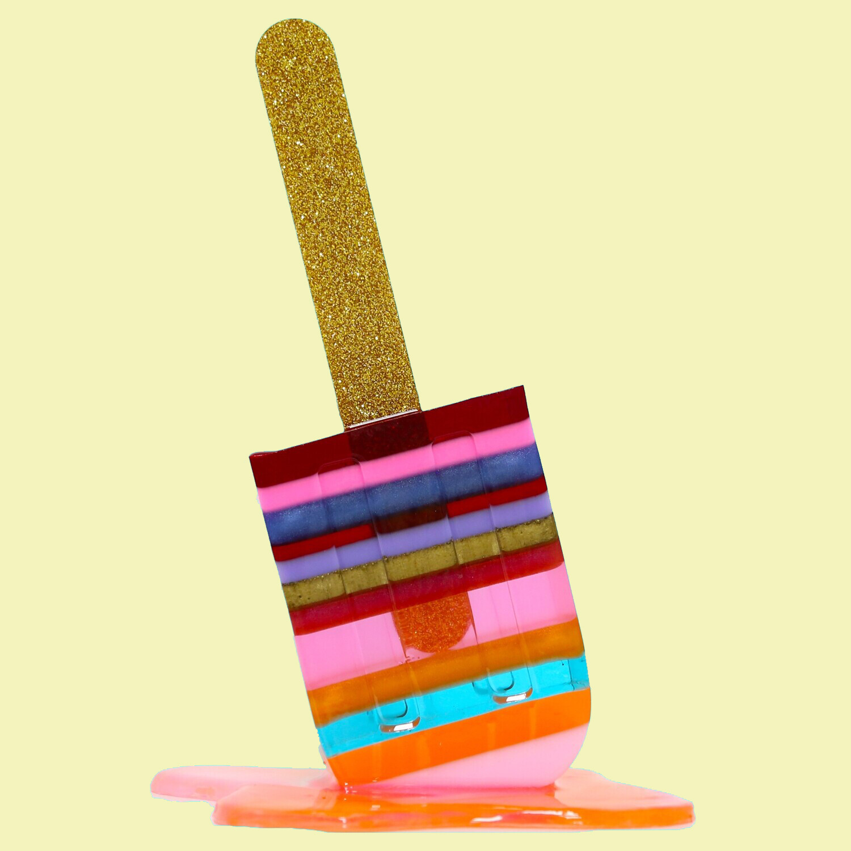 Melting Popsicle Art - Bigger Warm & Cozy Pop  - Original Melting Pops™
