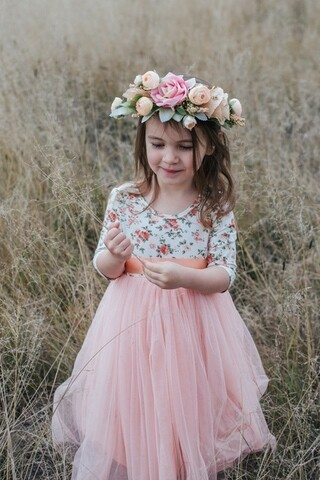 Willow Dress | Peach