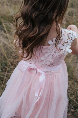 Layla Tutu Dress | Soft Peach
