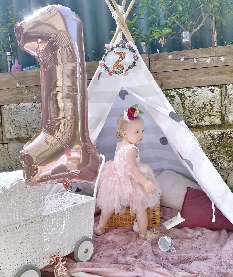 Aurora Grace Dress | Dusky Pink
