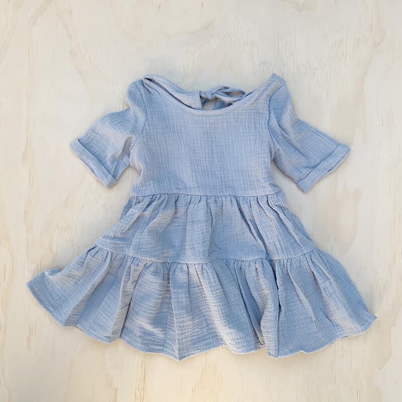 HARPER Muslin Dress | Sage