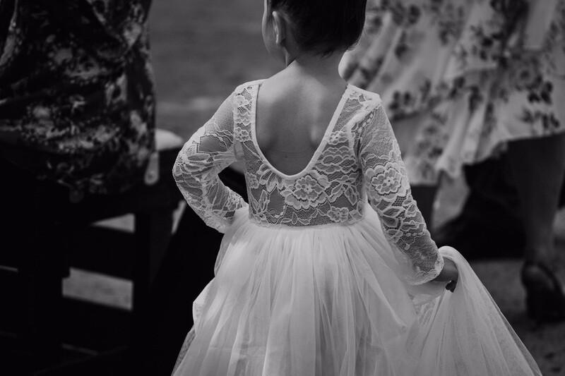 Juliette Dress Scoop Back Long Sleeves | Ivory