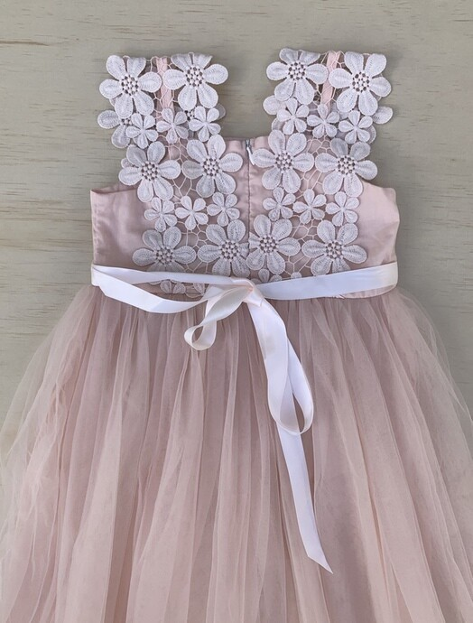 Layla Tutu Dress | Dusty Blush Coral