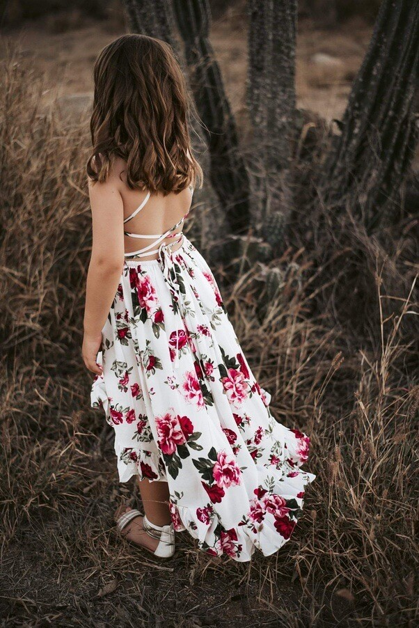 Florence Hi Low Dress   Scarlett