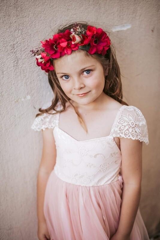 Angelika Girls Dress