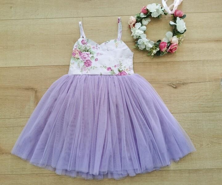Aria Tutu Dress | Purple
