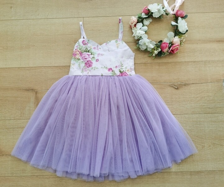 Aria Tutu Dress | Purple