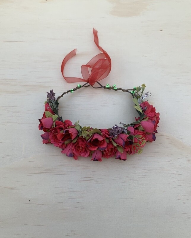Gabriella Christmas Flower Crown | PREORDER