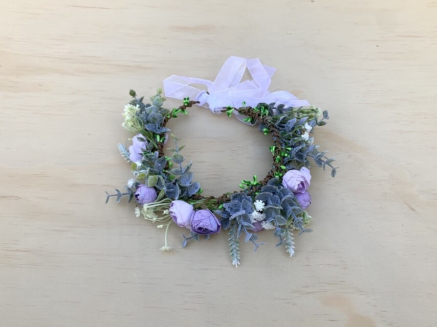 Lilac Snow Crown
