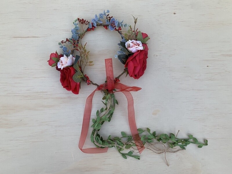 Clementine Christmas Flower Crown