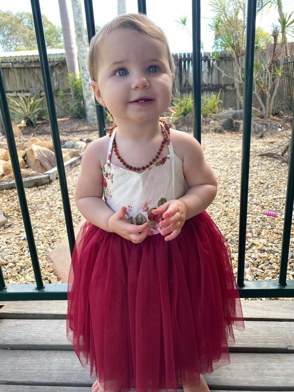 Aria Tutu Dress | Wine
