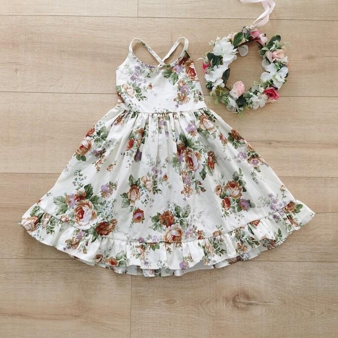 Elsie Girls Dress | Lulu