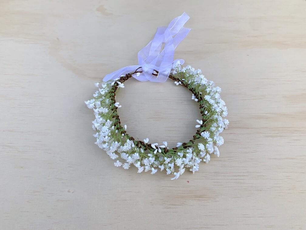 White Sprite Flower Crown