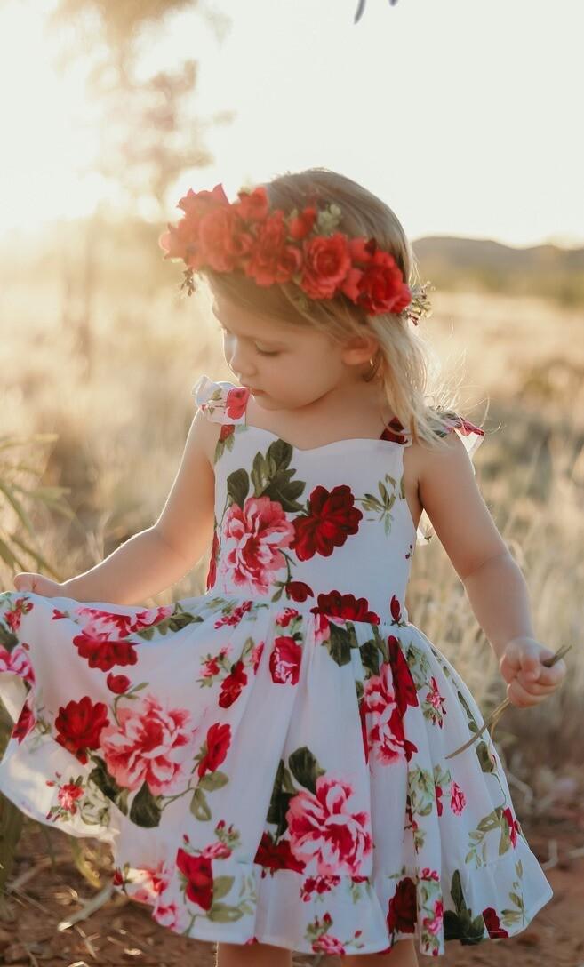 Josephine Dress | Rose