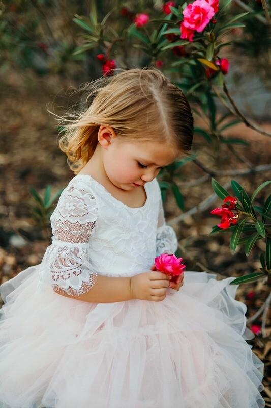 Aurora Grace Dress Powder Pink