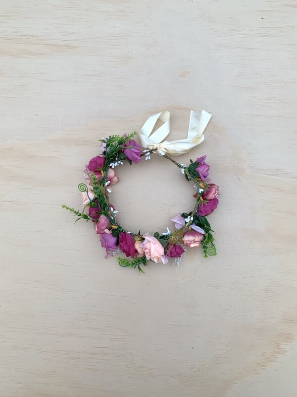 Lillian Girls Flower Crown