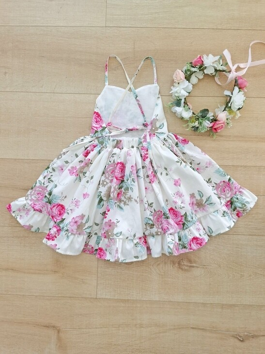 Hadlee Girls Floral Dress