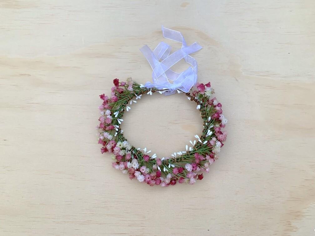 Pink Sprite Flower Crown