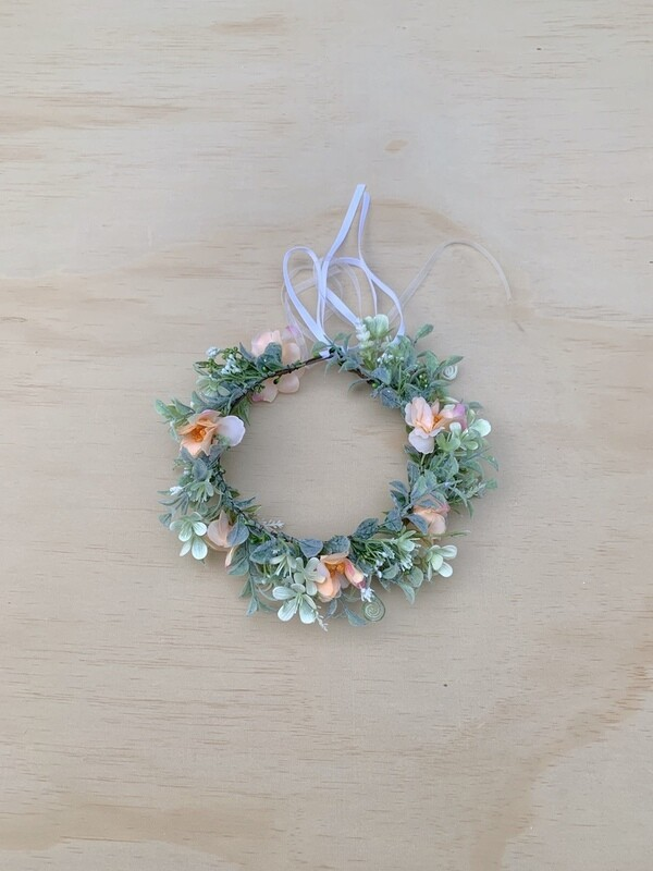 Orange Blossom Girls Flower Crown