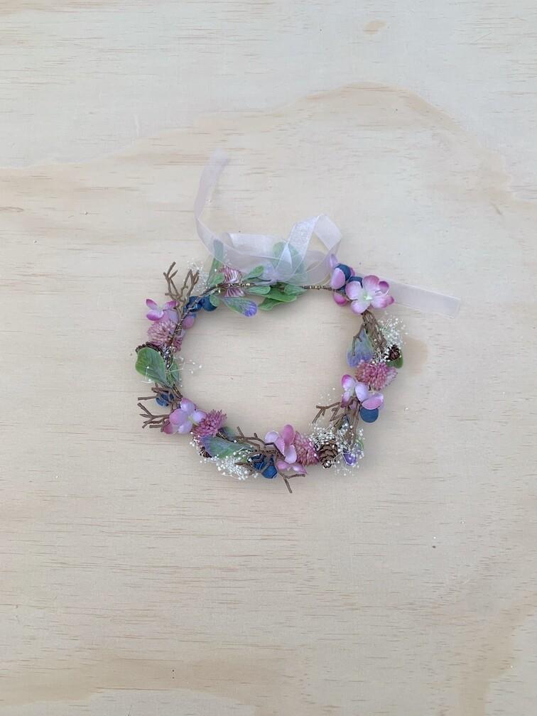 Forest Fairy Girls Flower Crown
