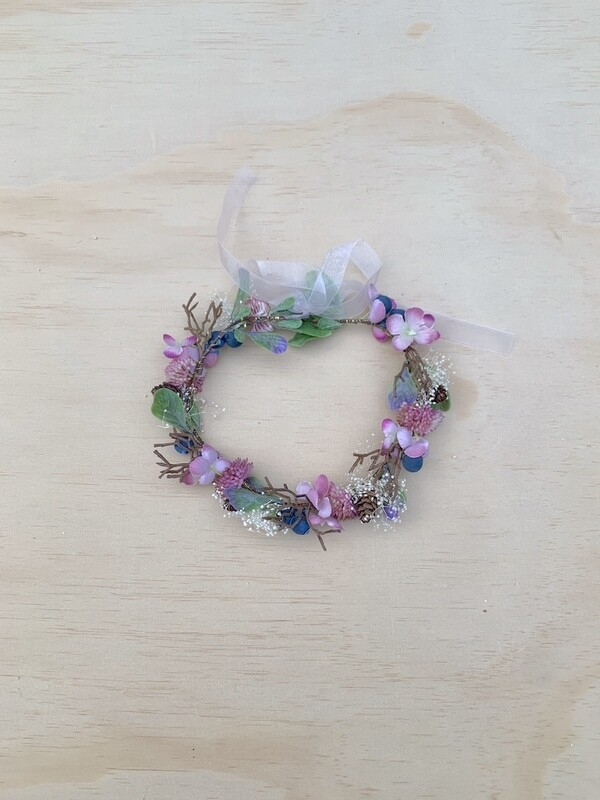 Forest Fairy Girls Flower Crown