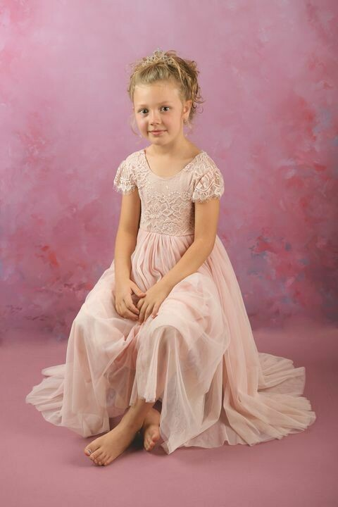 Celeste Dress | Dusty Pink