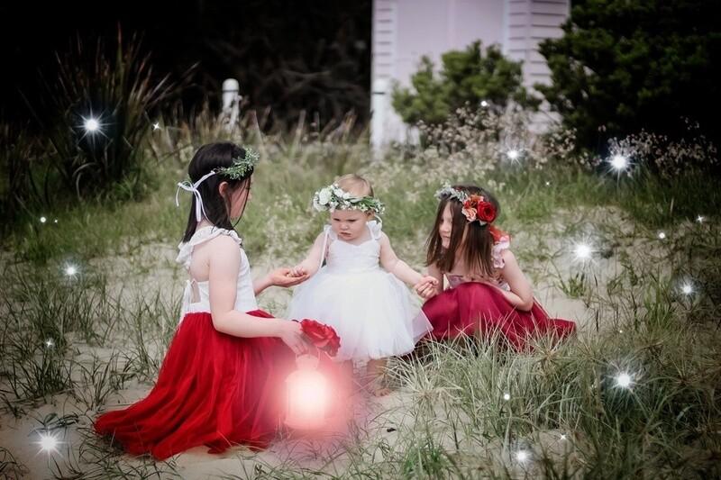 Bella Girls Christmas Crown