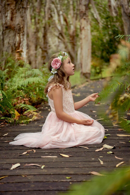 Enchanted Angel Tutu Dress | Pink