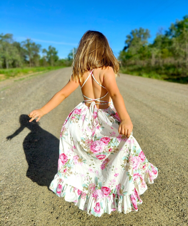 Florence Hi Low Dress   Primrose