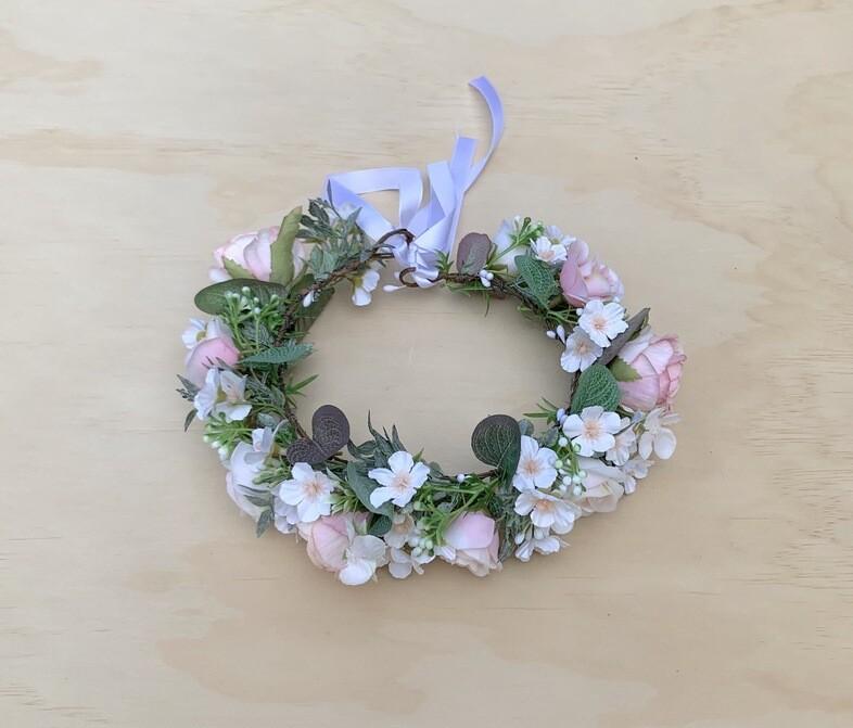 Angel Girls Flower Crown