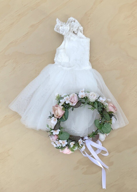 Enchanted Angel Baby Tutu Dress