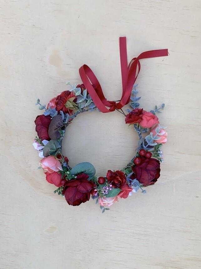 Scarlett Rose Girls Flower Crown