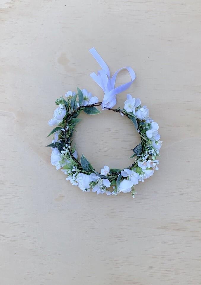 Allegra Girls White Flower Crown