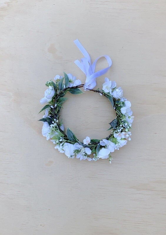 Allegra Girls White Flower Crown