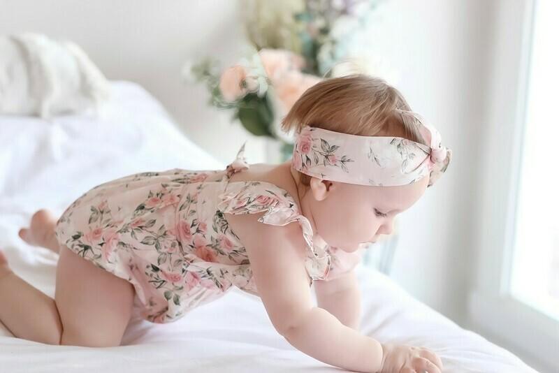 Junie Baby Girls Romper