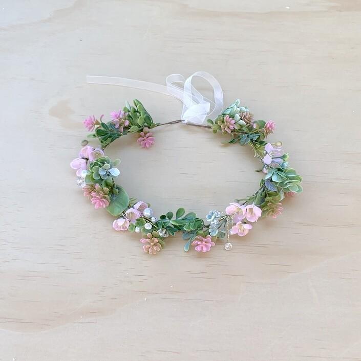 Mystical Forest Girls Flower Crown