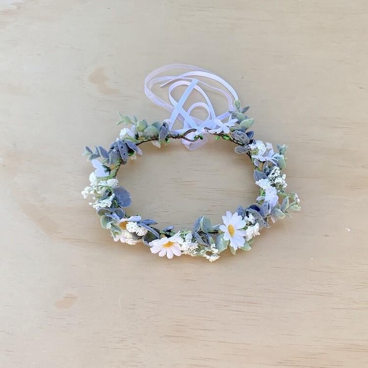 Daisy Girls Flower Crown