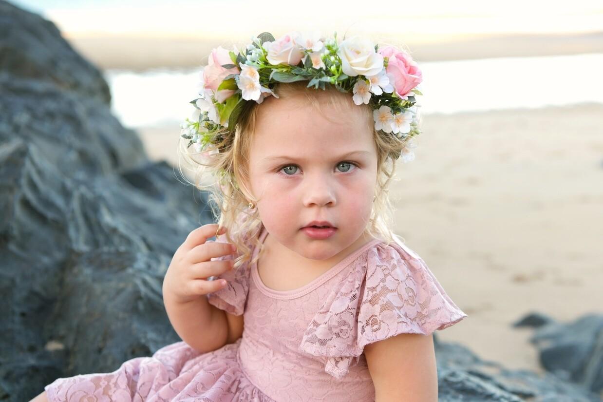 Ellory Girls Flower Crown