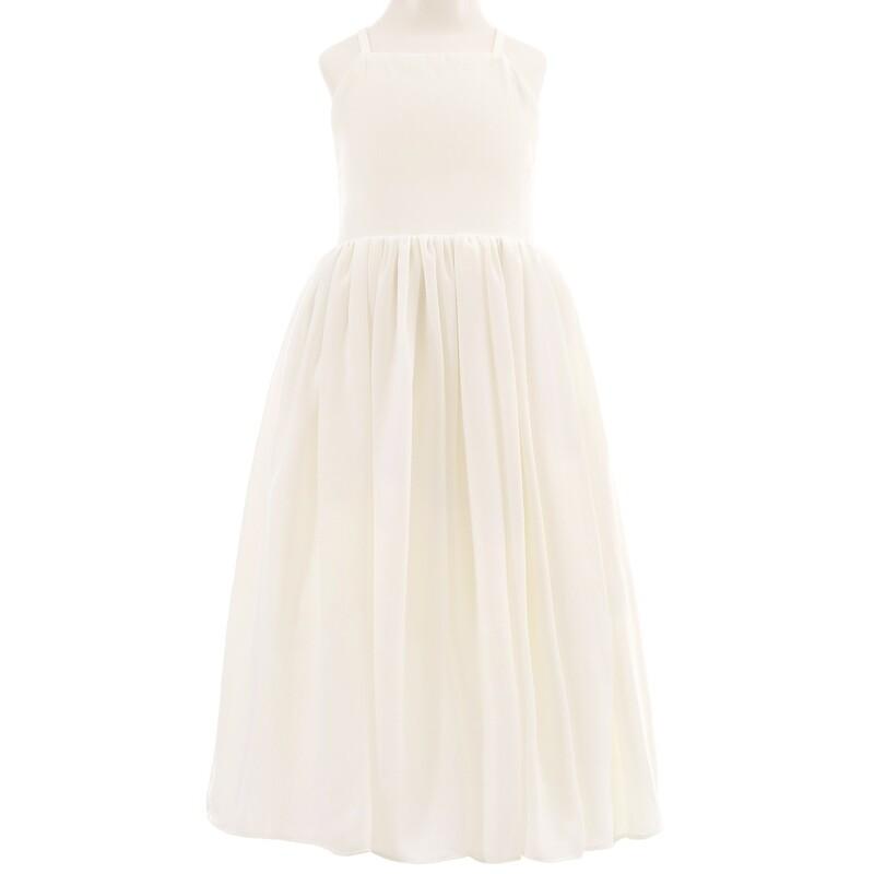 Sofia French Chiffon Dress | Ivory